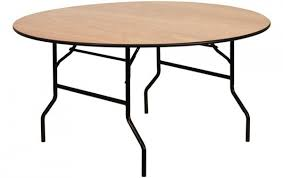 round wooden folding table 5ft round wooden catering table from folding table uk ftuk