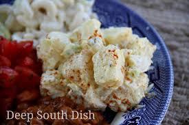 deep south dish southern style potato salad