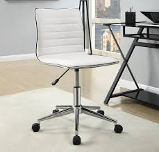 white fabric office chair fabric office chair caravana furniture