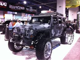 jeep camo the jeeps just don u0027t stop sema 2013 truck trend