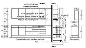 standard height for kitchen cabinets kitchen decoration