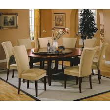 steve silver 72 round dining table steve silver avenue 9 piece 72 inch round dining table set