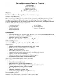 Impressive Objective For Resume Accounting Resume Skills Summary Novel Study For The Outsiders