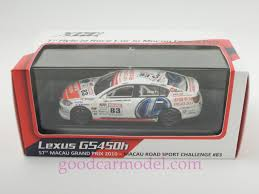 lexus sports car model new 1 43 xco car model 57th macau grand prix 2010 83 lexus g5450h