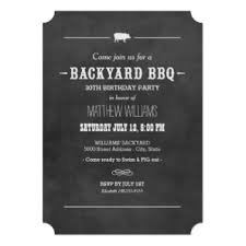 Backyard Birthday Party Invitations by Backyard Birthday Party Invitations U0026 Announcements Zazzle Com Au