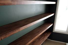 Contemporary Shelving Furniture Mesmerizing Rustic Home Wall Decoration With Thick Wood