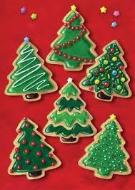 Pics Of Decorated Christmas Trees Best 25 Decorated Christmas Cookies Ideas On Pinterest