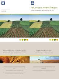 17991 abc guide to mineral fertilizer plant nutrition fertilizer