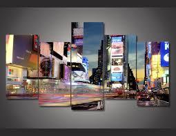 chambre de d馗ompression hd imprimé de times square york peinture enfants chambre décor d