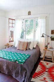 Bedside Table Desk Bedroom Decor Hardwood Floorings Wooden Platform Bed Bedside