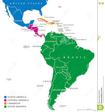 South America Map With Capitals by North America Maps Pictures Maps By Countries In North America