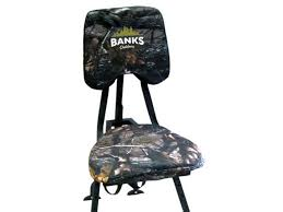 Stump Chair Banks Blinds Box Blind Stump Chair Steel Black Camo Mpn Stcha