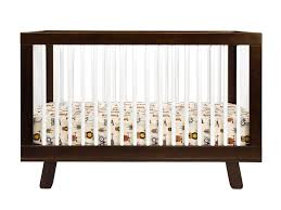 Espresso Convertible Crib by Babyletto Hudson 3 In 1 Convertible Crib With Toddler Rail