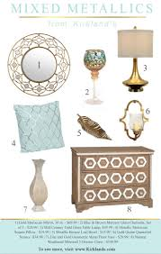 42 best metallic home decor images on pinterest metallic decor