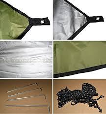 azlife ultralight tent tarp waterproof anti uv large green hammock