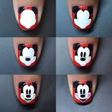 25 mickey nails ideas disneyland nails