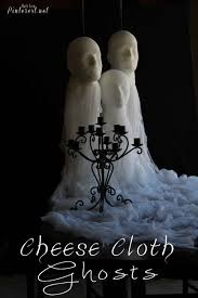 cheese cloth ghosts tgif this grandma is fun