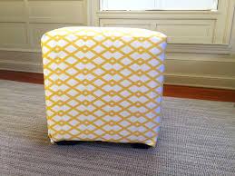 diy storage ottoman coffee table wrap around tray cube pouf 25339