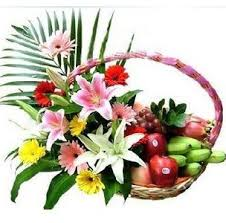 fruit and flower basket china flower send flowers to china anywhere anytime china flowers