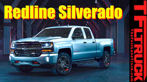 Classic Chevy Trucks Wanted - 2017 chevy silverado and colorado redline editions everything you