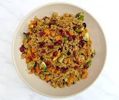 thanksgiving quinoa recipes chicago jogger weekend quinoa u0026 butternut squash salad