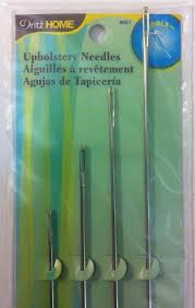 Upholstery Needles Dritz Upholstery Needles 072879115307