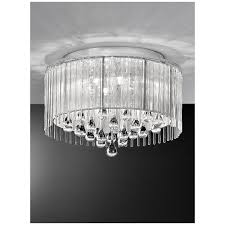 Chrome Ceiling Lights Uk Franklite Spirit Lights Spirit Ceiling Light