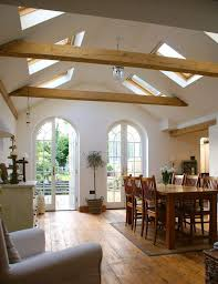 vaulted ceiling beams 25 vaulted ceiling ideas with pros and cons digsdigs