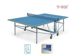 collapsible table tennis table installation foldable table tennis table double folding for physical