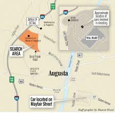 Walmart Black Friday Map Money Dispute May Have Been At Heart Of Gunfire At Augusta Wal