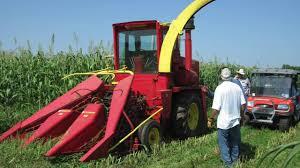 farmhand f600 forage harvester at 2016 golden harvest days