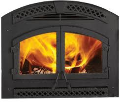 Air Tight Fireplace Doors by Northstar Wood Fireplace Heat U0026 Glo