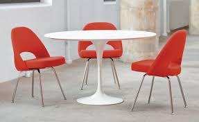 saarinen executive side chair with metal legs hivemodern com
