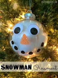 30 diy ornament ideas tutorials for snowman