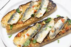 comment cuisiner des filets de sardines filets de sardine fraîche poêlés sur tartine de recette