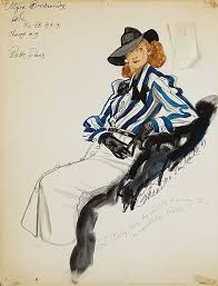 theadora van runkle theodora van runkle costume sketch of bette davis for myra b