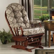 Glider Chair With Ottoman Tapestry Glider Rocker U0026 Ottoman Sturbridge Yankee Workshop