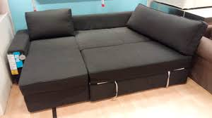 Sofa Sleeper With Storage Charming Manstad Sectional Sofa Bed Storage From Ikea 96 For