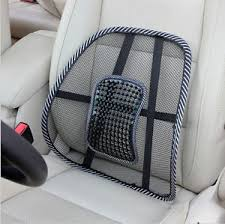 Lower Back Chair Support Mesh Lumbar Lower Back Support Cushion Seat Posture Corrector Car