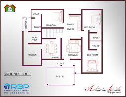 Free Small House Plans Indian Style Simple 3 Bedroom House Floor Plans Without Garage Benru Plan Gh C2