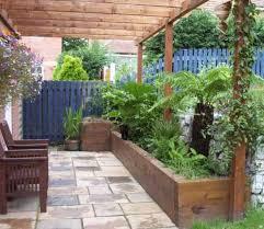 sam u0026 tracey u0027s railway sleeper garden bed