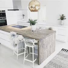 Kitchen Island Ideas With Seating Best 25 Waterfall Countertop Ideas On Pinterest Kitchen Island