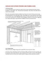 2 Car Garage Door Dimensions Home Interior Makeovers And Decoration Ideas Pictures Standard 2