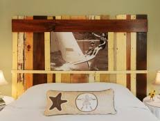 Headboards Made With Pallets Repurpose A Pallet And Turn It Into A Headboard Diy