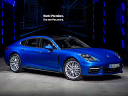 porsche car panamera 2017 porsche panamera new look signals even more change kelley