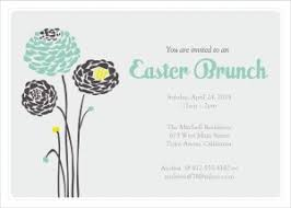 brunch invitations printable easter brunch invitations template