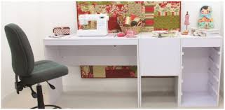 sewing machine cabinet desk table storage furniture janome singer