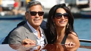 george clooney wedding george clooney marries in studded venice wedding cnn