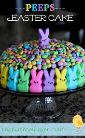peeps easter cake the cutest easter cake i u0027ve ever seen