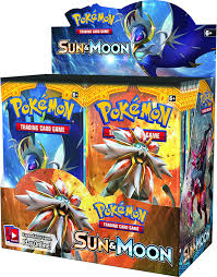 amazon com pokemon sun u0026 moon english booster box 36 packs of
